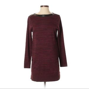 S Boutique comfy chic burgundy heather tunic